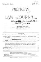 Proceedings of the Annual Meeting of the Michigan State Bar Association  with Reports of Committees  Lists of Officers  Members PDF