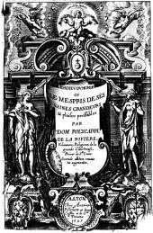 L'adieu du monde ou le mespris de ses vaines grandeurs & plaisirs perissables par dom Polycarpe de La Riuiere, Velaunois, religieux de la Grande Chartreuse, ..