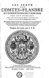Les seaux des comtes de Flandre et inscriptions des chartes