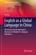 English as a Global Language in China