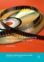 Identifying and Interpreting Incongruent Film Music PDF