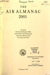 The Air Almanac PDF
