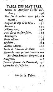 Le mercure galant: 1685, 1