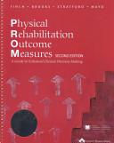 Physical Rehabilitation Outcome Measures