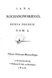 Dziela polskie: Tom 1