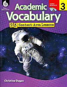 Academic Vocabulary 25 Content Area Lessons PDF