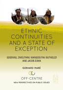 ETHIC CONTINUITIES AND A STATE OF EXCEPTION