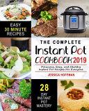 Instant Pot Cookbook 2019
