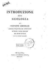 Introduzione alla geologia di Scipione Breislak ... Parte prima [-seconda]: Volume 1