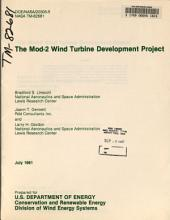 The Mod-2 wind turbine development project