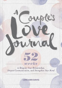 A Couple s Love Journal