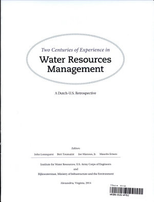 Two Centuries of Experience in Water Resources Management PDF