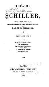 Théatre de Schiller: Volume2