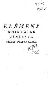 Elémens d'histoire générale: première partie, Histoire Ancienne
