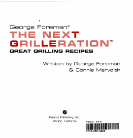 The Next Grilleration Book