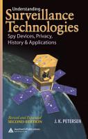 Understanding Surveillance Technologies PDF