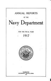Annual Reports of the Navy Department ...