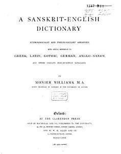 A Sanskrit English Dictionary PDF