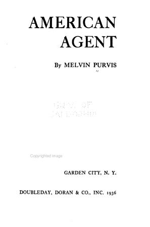American Agent PDF