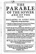 The Parable of the Sower and of the Seed, Etc