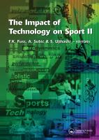 The Impact of Technology on Sport II PDF