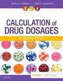 Calculation of Drug Dosages PDF