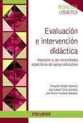 Evaluación e intervención didáctica