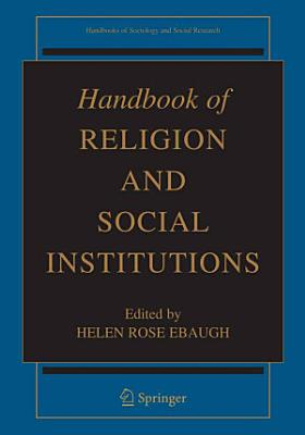 Handbook of Religion and Social Institutions PDF