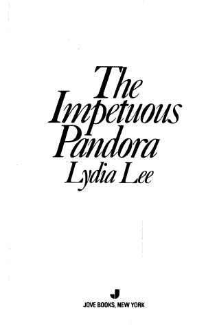 The Impetuous Pandora