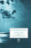 Letitia Elizabeth Landon - Selected Writings