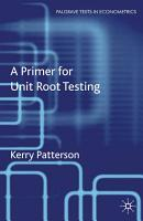 A Primer for Unit Root Testing PDF