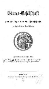 Die Druckkunst im Dienste der Kirche zunächst in Deutschland bis zum Jahre 1520