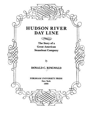 Hudson River Day Line PDF