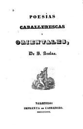 Poesías caballerescas y orientales