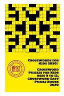 Crosswords for Kids 2020