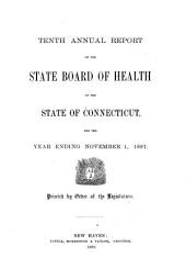 Report of the Department of Health: Volume 10