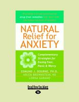 Natural Relief for Anxiety PDF
