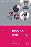 Mastering Fashion Marketing PDF