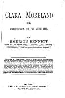 Clara Moreland  Or  Adventures in the Far South west PDF