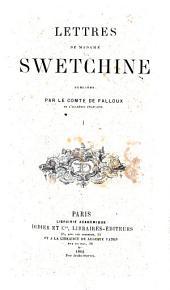 Lettres de Madame Swetchine: Volume1