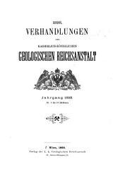 Verhandlungen der Geologischen Bundesanstalt: Band 1893