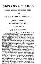 Giovanna d'Arco: ballo storico in cinque atti