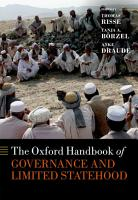 The Oxford Handbook of Governance and Limited Statehood PDF