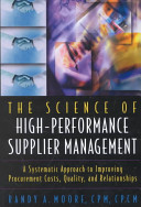 The Science of High performance Supplier Management PDF