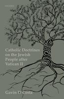 Catholic Doctrines on the Jewish People after Vatican II PDF