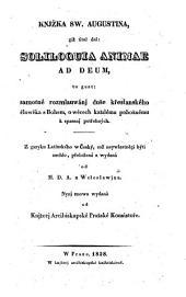 Knjzka, giz titul dal Soliloquia animae ad Deum ... (Ein Büchlein, dessen Titel: Soliloquia animae ad Deum ...)