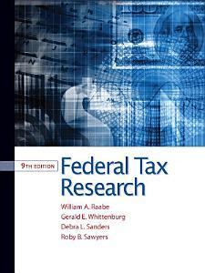 Federal Tax Research Book