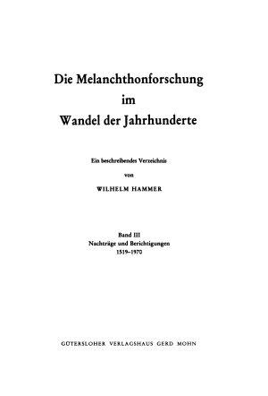 Quellen und Forschungen zur Reformationsgeschichte PDF