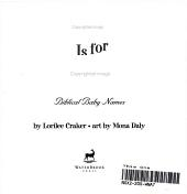 A is for Adam PDF