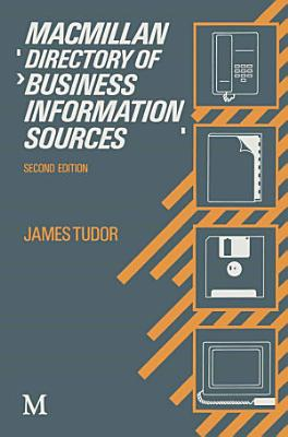 Macmillan Directory of Business Information Sources PDF